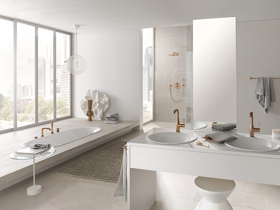 GROHE farbige Armaturen Oberfläche Farbe Spa Colors Essence Allure Brilliant Grandera